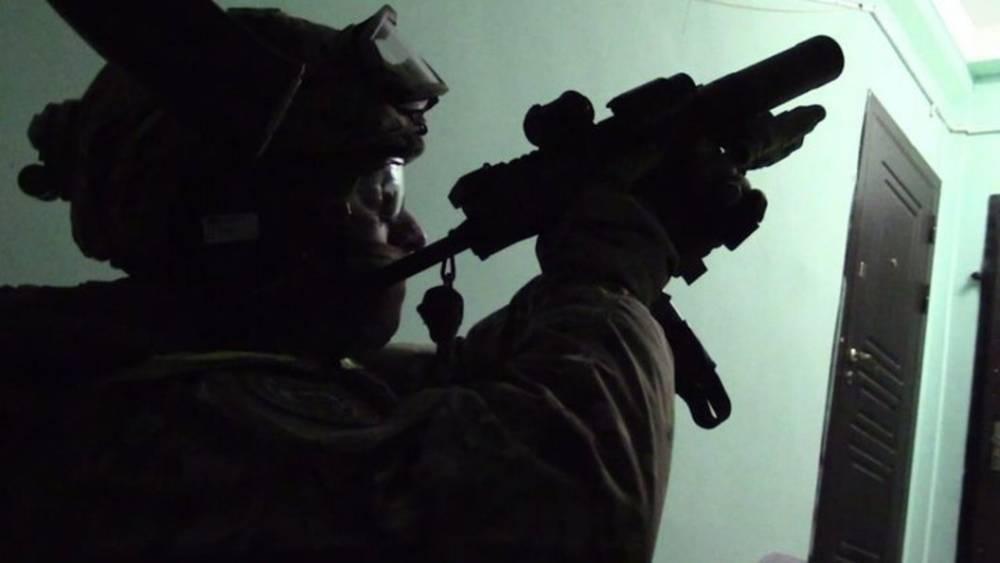 Режим КТО в Дагестане. Оружие и боеприпасы обнаружены на месте ликвидации боевиков