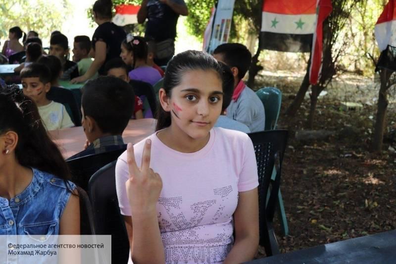 Сирийские дети прибыли на  реабилитацию в Крым