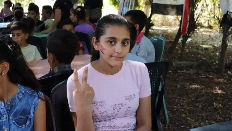 Дети из Сирии прибыли на реабилитацию в Крым