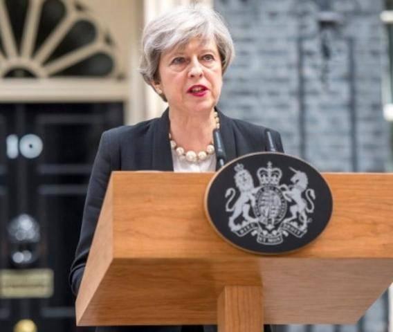 Премьер-министр Великобритании Тереза Мэй объявила об уходе в отставку