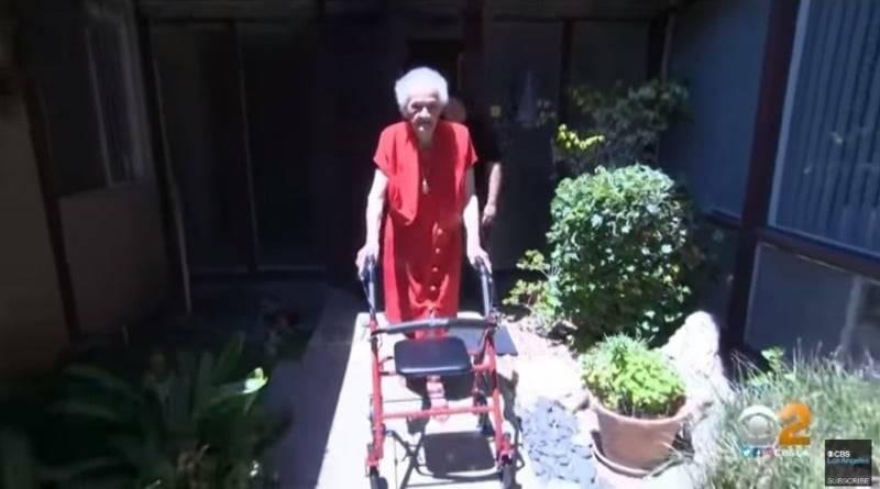 102-летнюю калифорнийку выселяют из дома, чтобы там могла жить дочь хозяйки