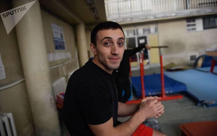 Армянские гимнасты завоевали золото в Санкт-Петербурге
