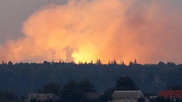 В России загорелся полигон утилизации боеприпасов: начались взрывы: фото и иллюстрации