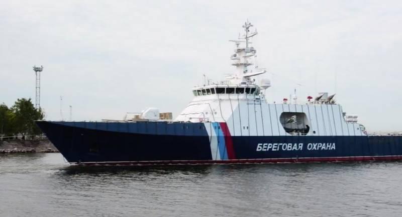 На воду спущен новый сторожевой корабль «Анадырь»: фото и иллюстрации