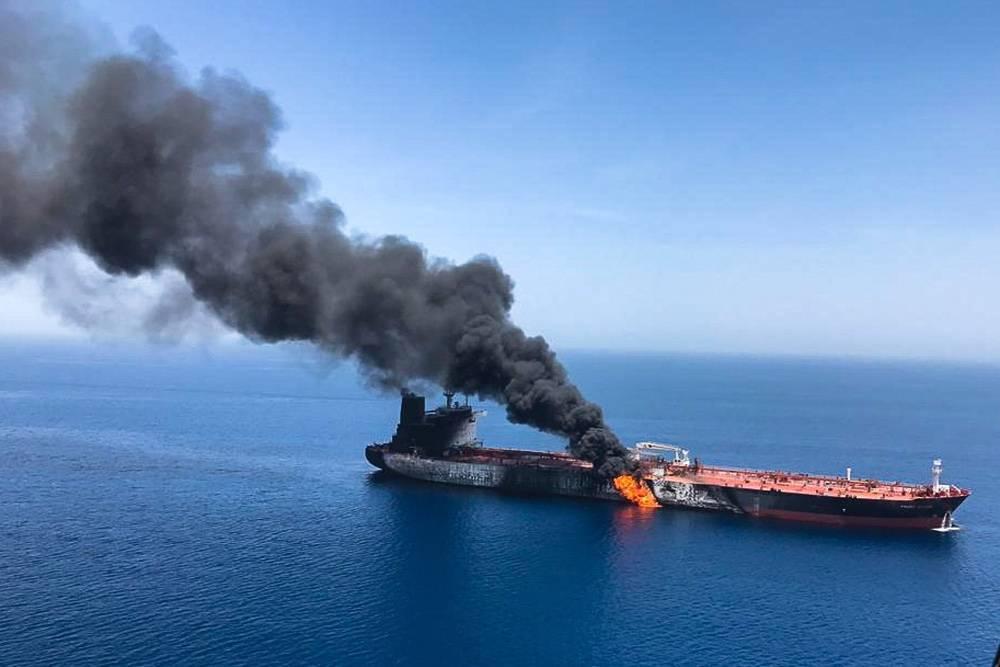 CNN: иранские военные пытались сбить дрон США перед инцидентом с танкерами в Оманском заливе: фото и иллюстрации