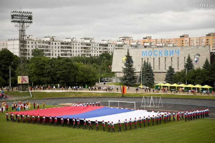 Департамент строительства приступил к реконструкции стадиона «Москвич»: фото и иллюстрации