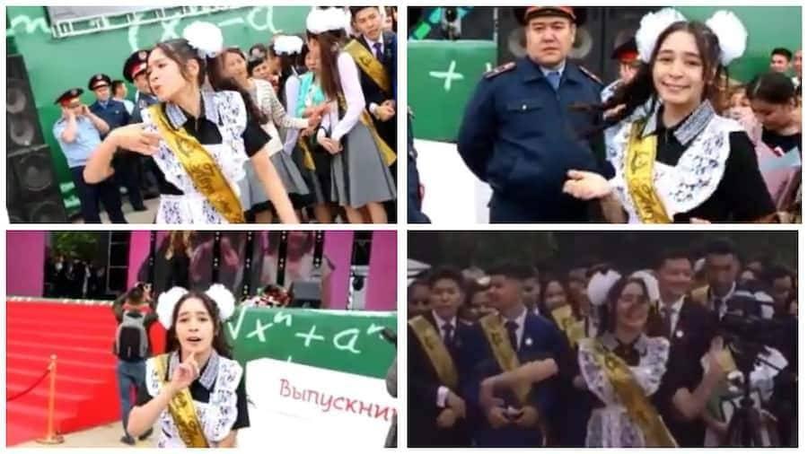 Видео с танцем казахстанской выпускницы на линейке стало хитом: фото и иллюстрации