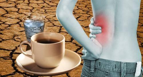 Засуха. Кофе на голодный желудок приводит к проблемам с почками: фото и иллюстрации