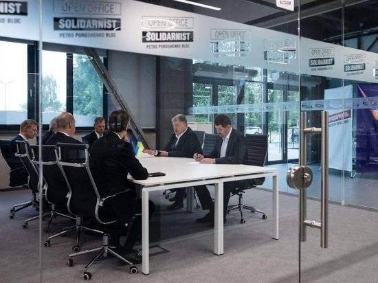 Порошенко назвал свою партию новым «спецназом» против России: фото и иллюстрации