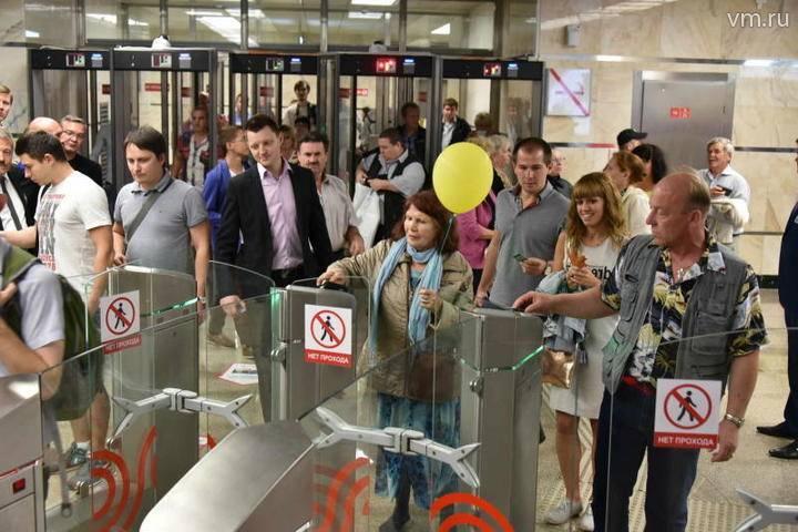 Станции Филевской линии метро открыты для пассажиров: фото и иллюстрации