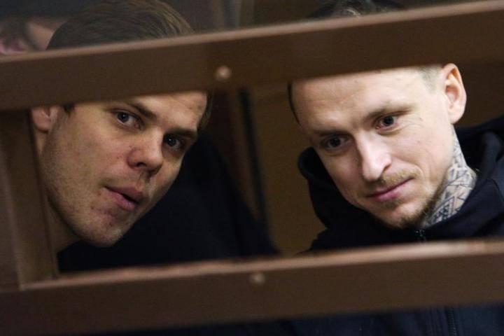 Павла Мамаева и Александра Кокорина переведут в одну колонию