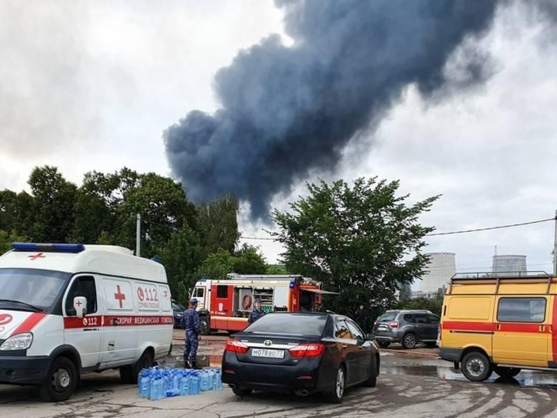 Женщина-охранник стала жертвой пожара на ТЭЦ в Мытищах