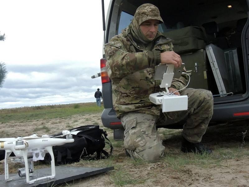 Украинский беспилотник сбили в ЛНР: фото и иллюстрации