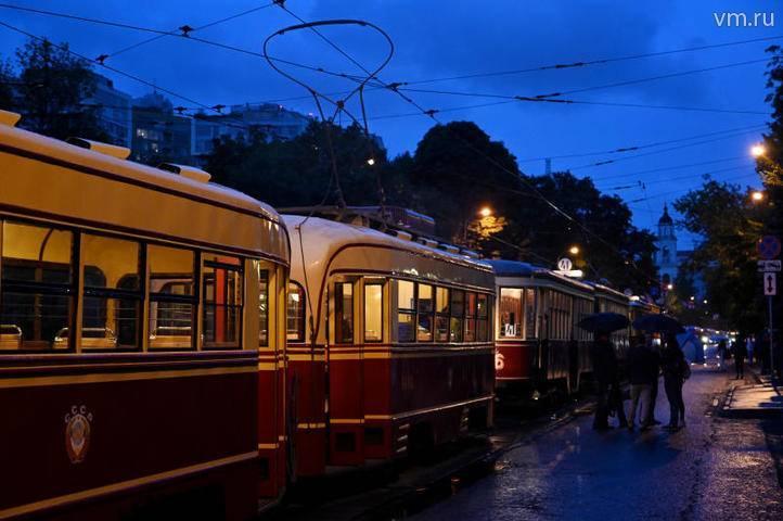 Второй в 2019 году парад трамваев состоялся в Москве: фото и иллюстрации