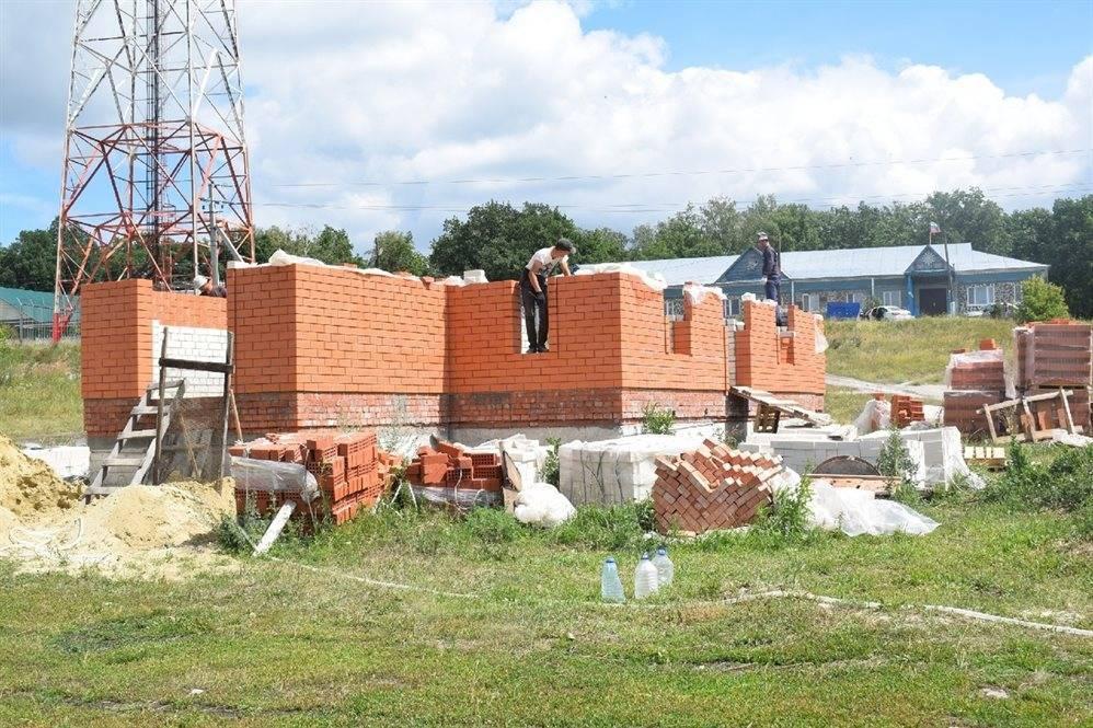 В Зеленой Роще строят храм в честь Святителя Николая: фото и иллюстрации