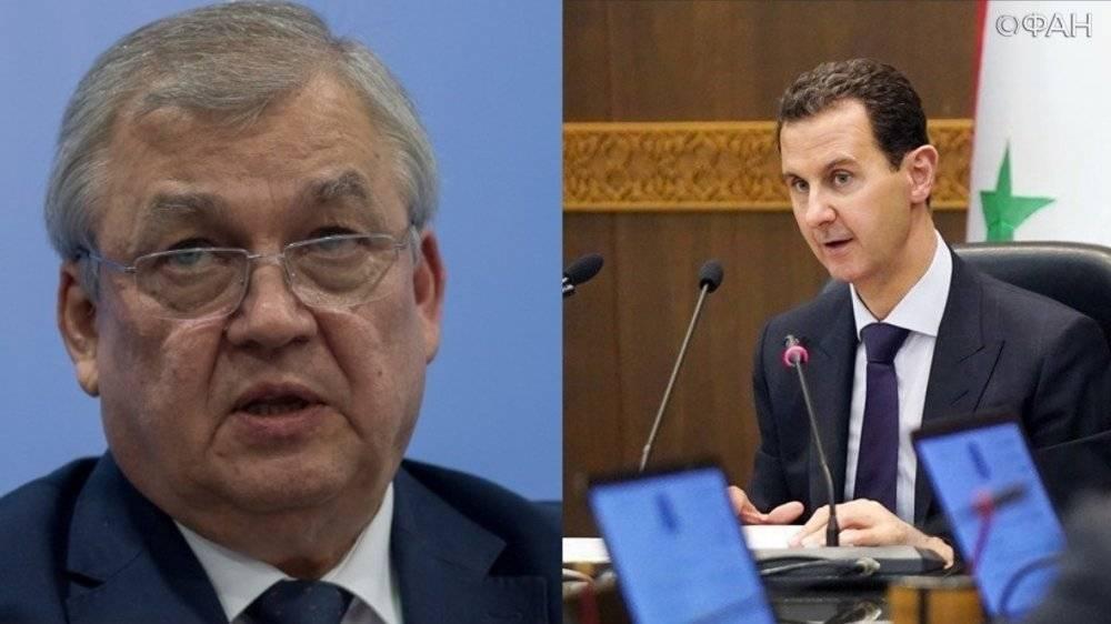 Глава Сирии обсудил со спецпредом РФ формирование конституционной комиссии: фото и иллюстрации