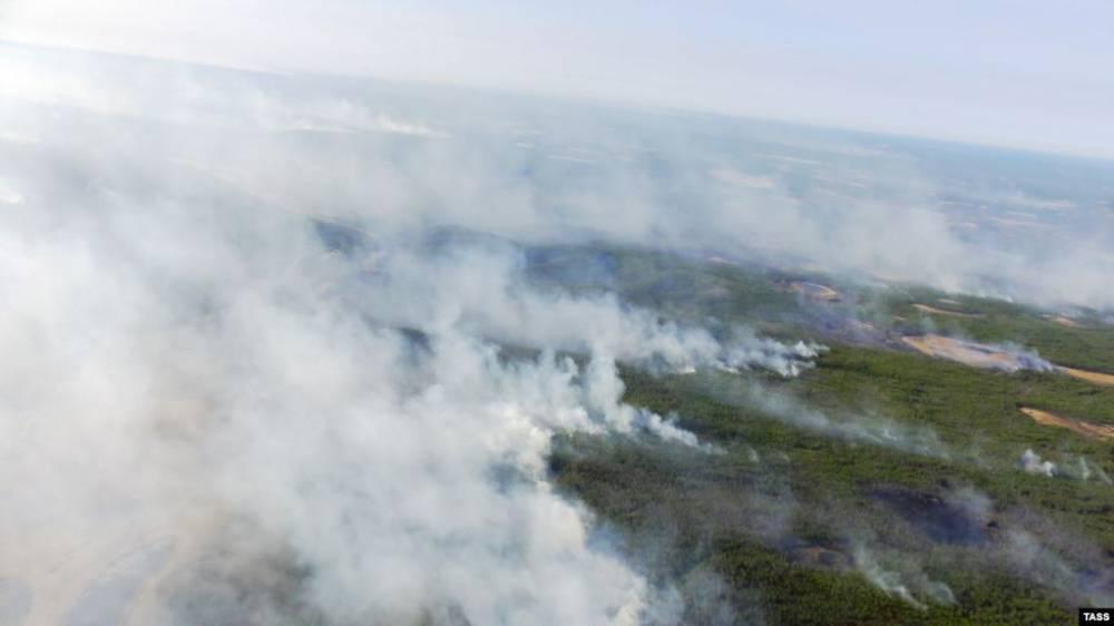 Красноярск заволокло дымом от пожаров, в Иркутской области режим ЧС из-за массового огня: фото и иллюстрации