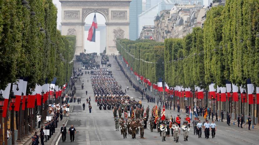 Военный парад в честь Дня взятия Бастилии — РТ на русском: фото и иллюстрации