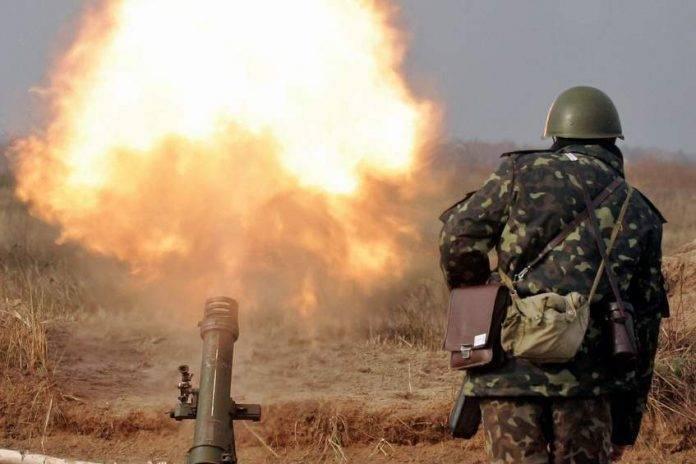ВСУ выпустили более 150 боеприпасов по территории ДНР   Новороссия: фото и иллюстрации