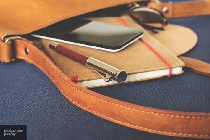 Бренд Balenciaga разработал сумки для смартфонов из телячьей кожи
