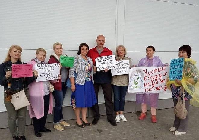 Депутат Рязанской облдумы встретилась с активистами организации «Дышим чистым»