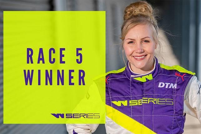 W Series: Эмма Кимиляйнен одержала первую победу - все новости Формулы 1 2019: фото и иллюстрации