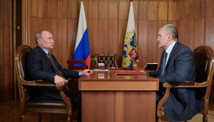 Встреча Путина и Аксенова: Путин высказал все, что думает о работе Аксенова