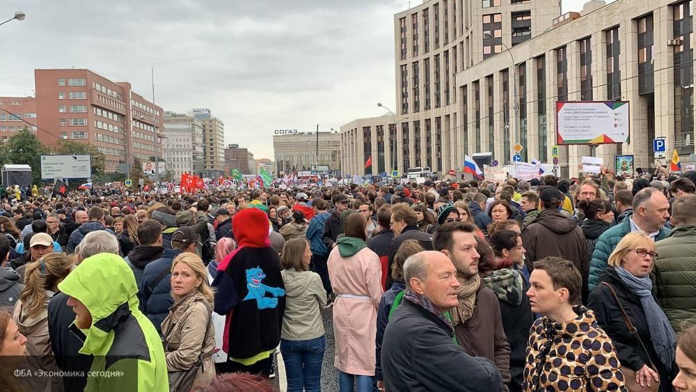 Мэрия Москвы не согласовала митинги «оппозиции», обезопасив город от беспорядков: фото и иллюстрации