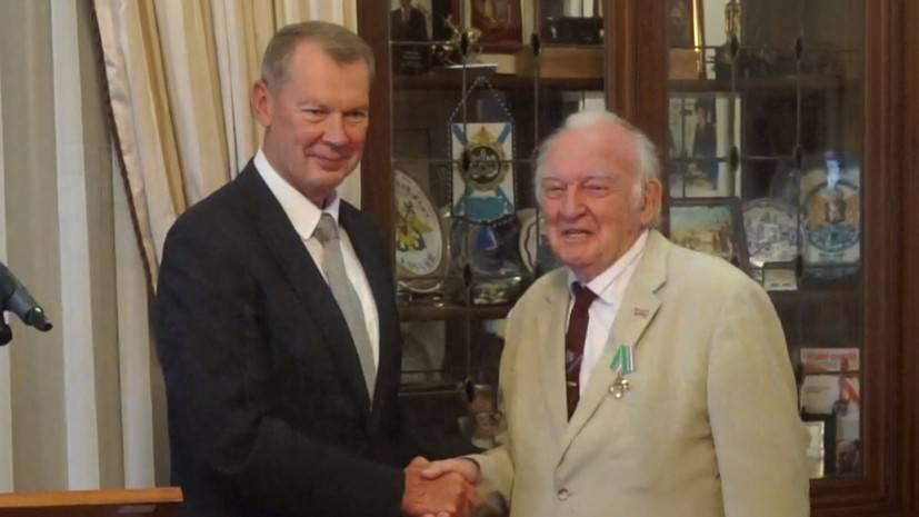 Посол РФ в Нидерландах наградил ветерана Сопротивления Альберта Гителинка — видео — РТ на русском: фото и иллюстрации