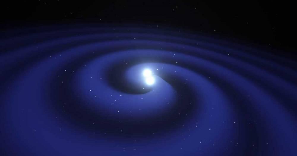 Впервые замечено поглощение черной дырой нейтронной звезды