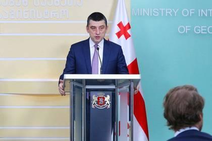 Разгневавший грузинских протестующих министр возглавит правительство: фото и иллюстрации