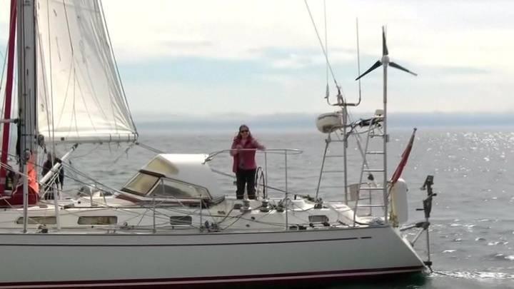 Вокруг света в 77 лет: британская яхтсменка установила рекорд мира: фото и иллюстрации