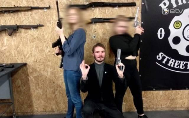 СМИ: молодые эстонские ультраправые регулярно тренируются встрельбе: фото и иллюстрации