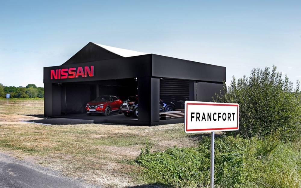 Очень странная премьера Nissan Juke - во французской глуши