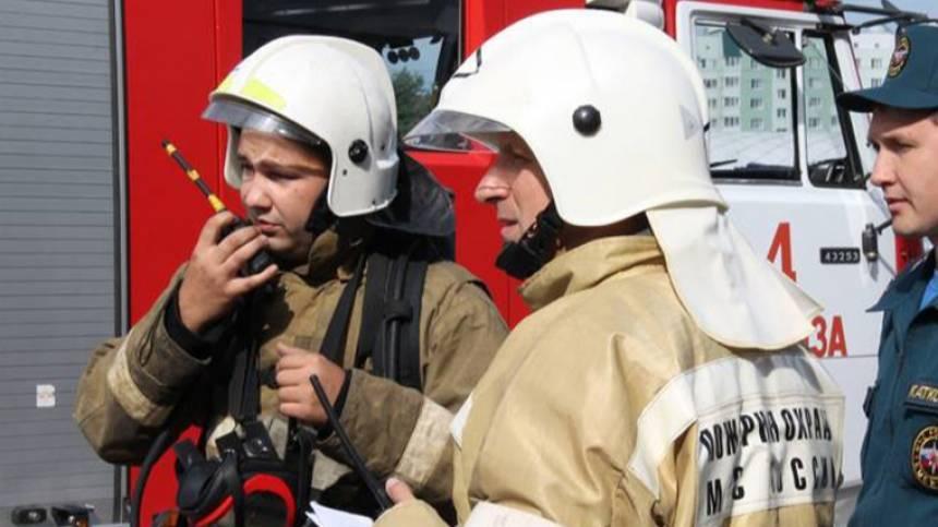 Пожарные в Приморье сняли с крыши парашютиста