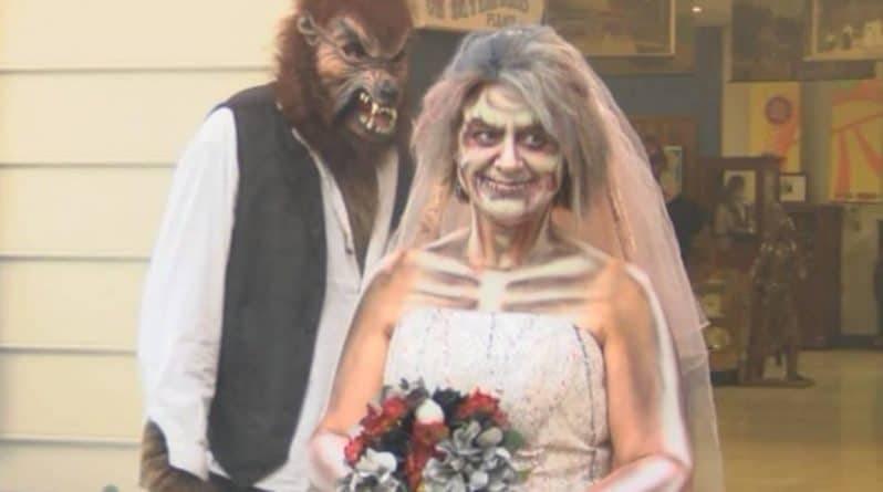 Свадьба в пятницу 13? Это не плохая примета, а лучший шанс выйти замуж за зомби: фото и иллюстрации