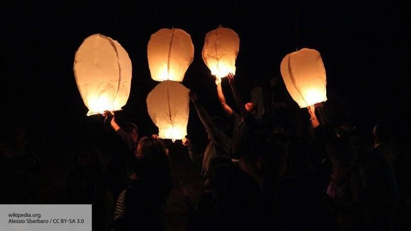 В Санкт-Петербурге проходит фестиваль гигантских китайских фонарей: фото и иллюстрации