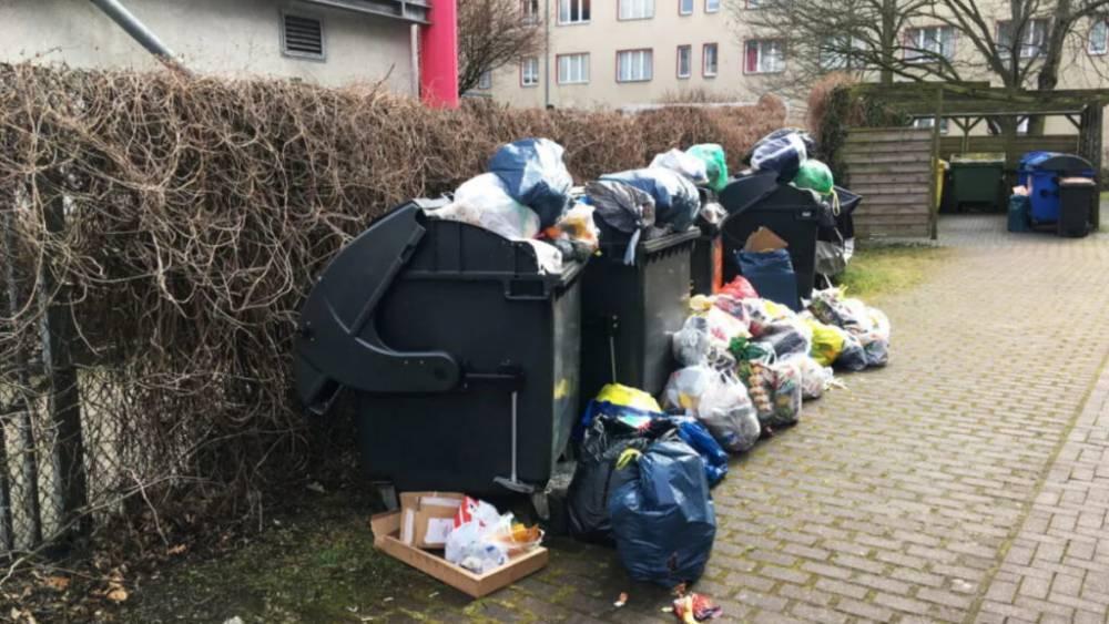Куда девать отходы, если мусорный бак переполнен?