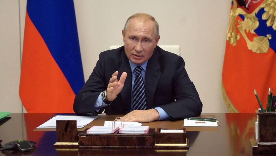 Путин: власти не планируют жесткие ограничения по коронавирусу