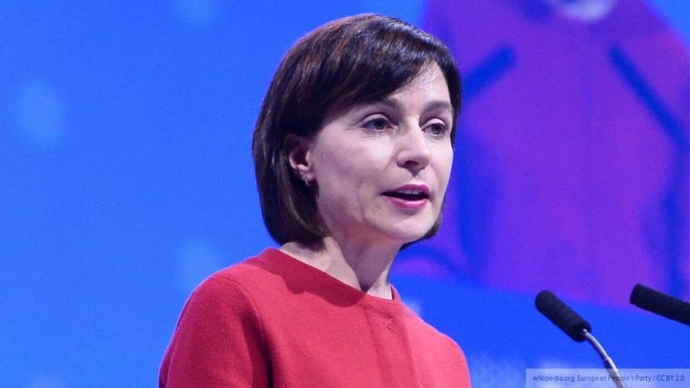 Санду назвала «нечестным» долг Молдавии перед