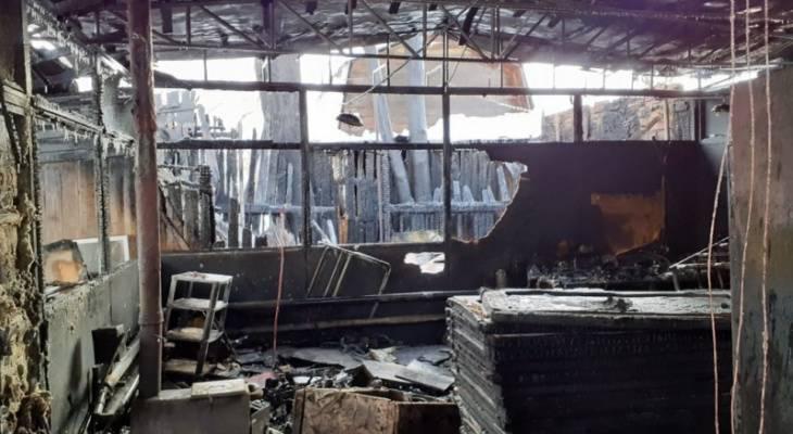 В Чебоксарах сгорел комиссионый магазин