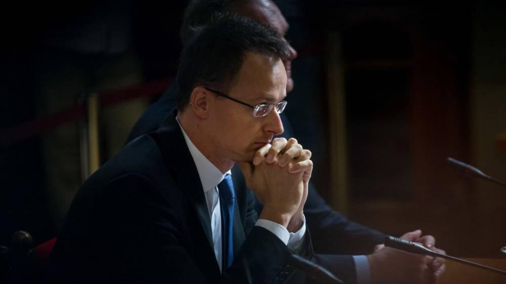 Главе МИД Венгрии угрожают расправой из-за визита на Украину