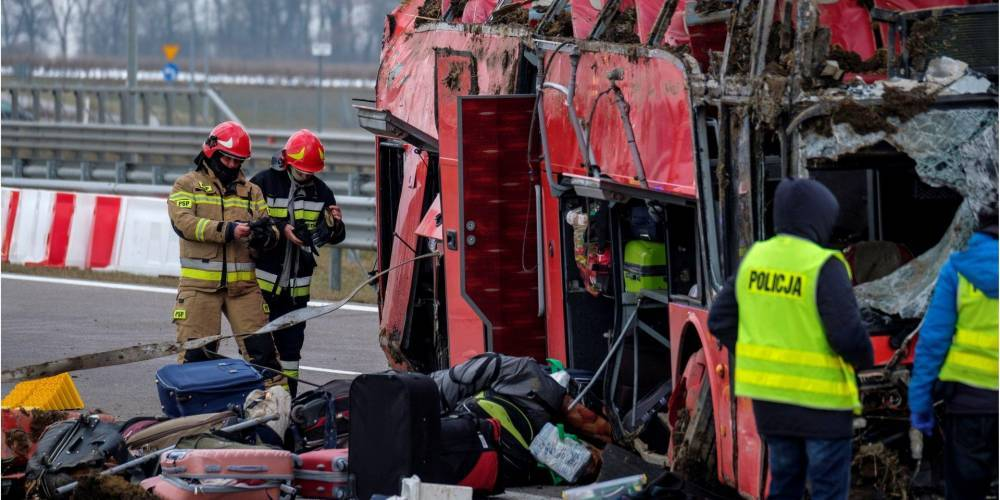 Смертельное ДТП украинского автобуса в Польше: водителю грозит до восьми лет лишения свободы