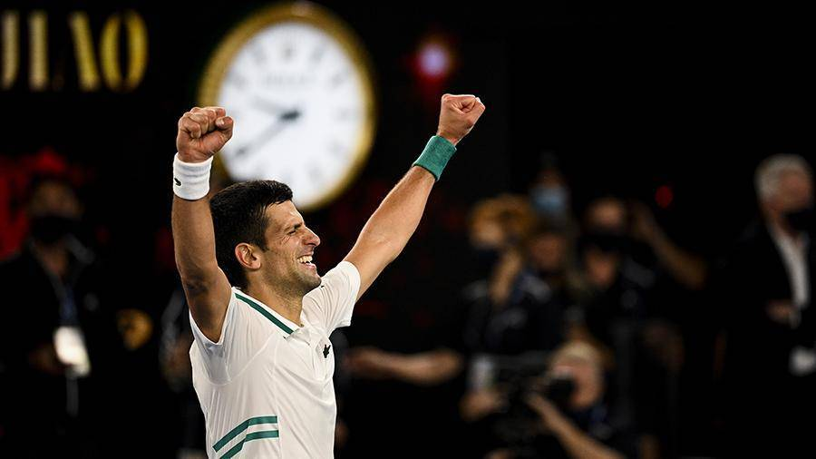 Джокович побил рекорд длительности нахождения на вершине рейтинга ATP