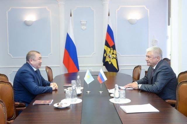 Колокольцев отметил эффективность сотрудничества МВД России и Казахстана
