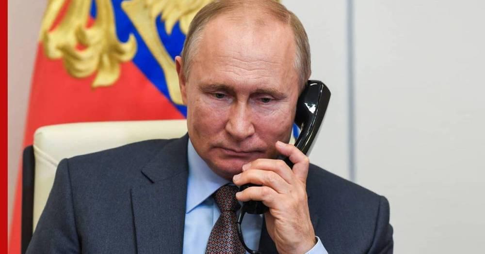Кремль раскрыл подробности разговора Путина и Байдена: звонок был из Белого дома