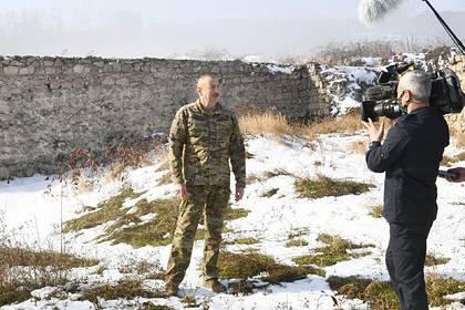 В Армении отреагировали на слова Алиева о мире в Нагорном Карабахе