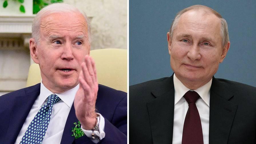 Белый дом оценил сроки проведения саммита Путина и Байдена