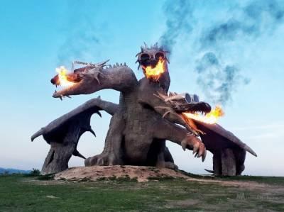 Липецкий Змей Горыныч борется за звание самого странного памятника страны