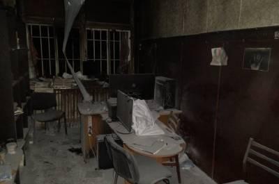 В Одесской области неизвестные сожгли редакцию сетевого издания